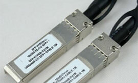Cisco SFP+ Cable SFP-H10GB-CU1M