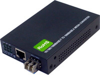 SFP fiber optic media converters
